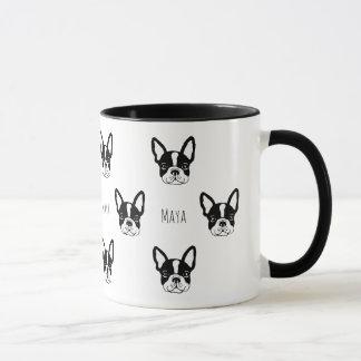 Cute custom french bulldog mug