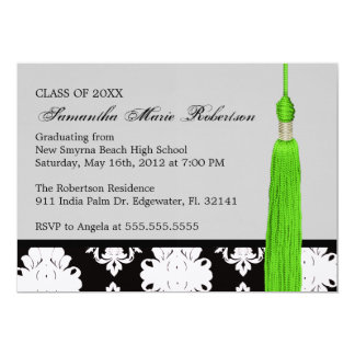 Cute Custom Graduation Invitation