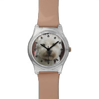 Cute Custom Pet Photo Wrist Watch