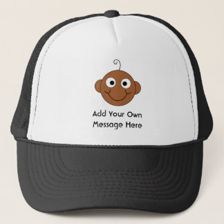 Cute Custom Text. Trucker Hat