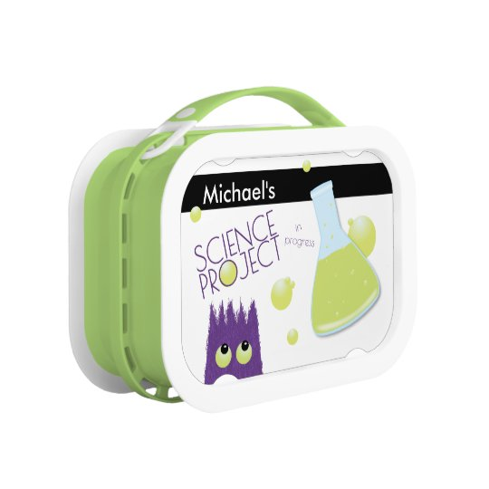 Cute Customisable Science Project Lunch Box