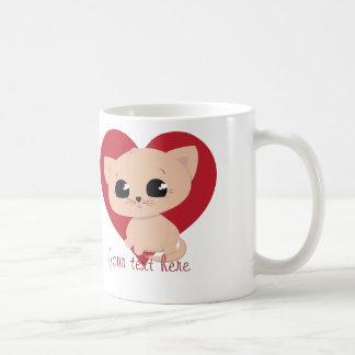 Cute Customised Kitten Mug