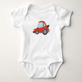 Cute Customizable Car Baby Bodysuit