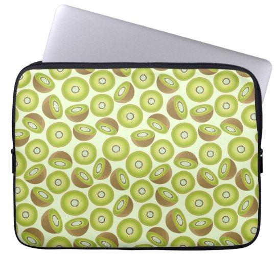 Cute Cut Kiwi Pattern Laptop Sleeve