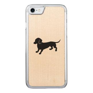Cute Dachshund Carved iPhone 8/7 Case