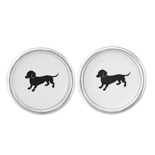 Cute Dachshund Cufflinks