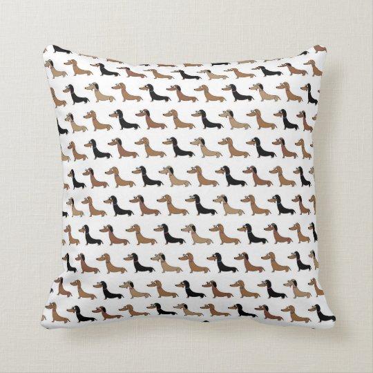 Cute Dachshund design cushion