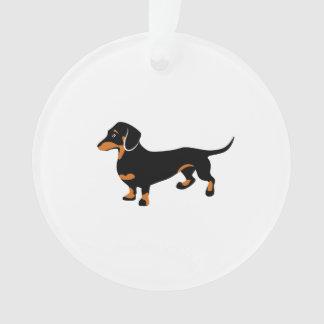 Cute Dachshund - Doxie Dog Ornament