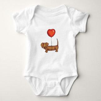 Cute Dachshund Gift Baby Bodysuit