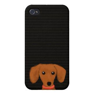 Cute Dachshund iPhone 4/4S Cover