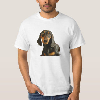 Cute Dachshund ( Miniature Brown Short Haired ) T-Shirt