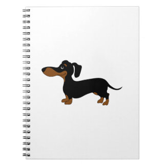 Cute Dachshund Note Books