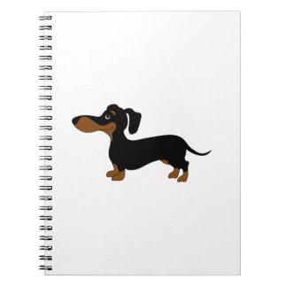 Cute Dachshund Notebooks
