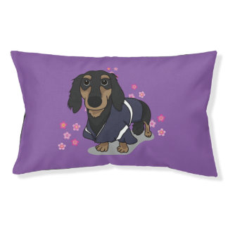 cute dachshund pet bed
