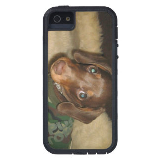 cute dachshund Pluto tough phone case