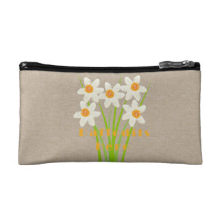 Cute Daffodils Hero Floral Travel Bag