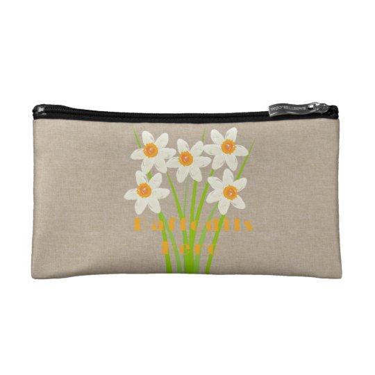 Cute Daffodils Hero Floral Travel Bag