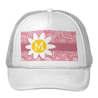 Cute Daisy; Blush Pink Paisley; Floral Hats