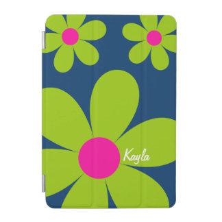Cute Daisy iPad Mini Cover - Green/Pink/Blue