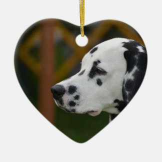 Cute Dalmatian Puppy Christmas Ornament