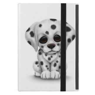 Cute Dalmatian Puppy Dog on White Case For iPad Mini