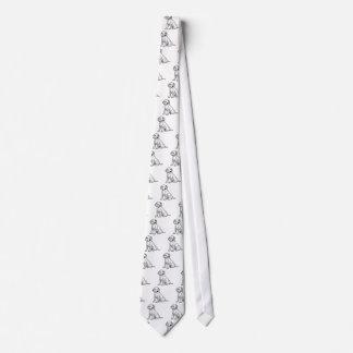 Cute Dalmatian Puppy Tie