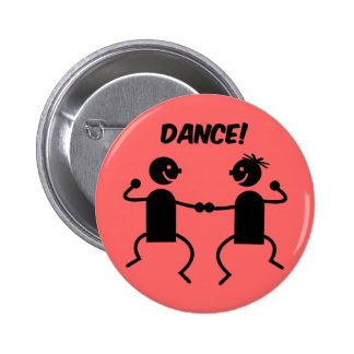 Cute dance button