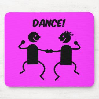 Cute dance mouse pad