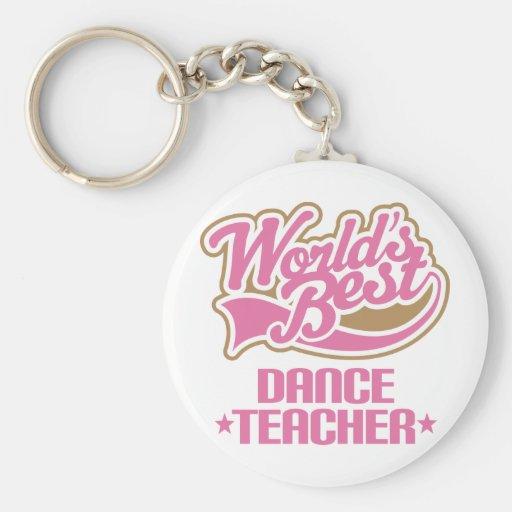 Cute Dance Teacher Key Chains