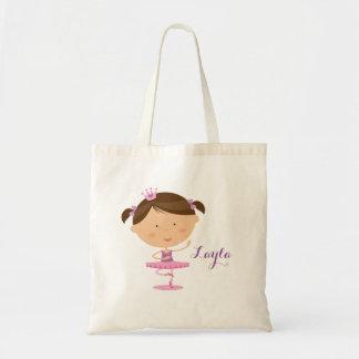 Cute Dancer Ballerina Girl Tote bag