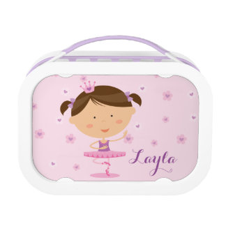 Cute Dancer Ballerina Girl Yubo Lunchbox