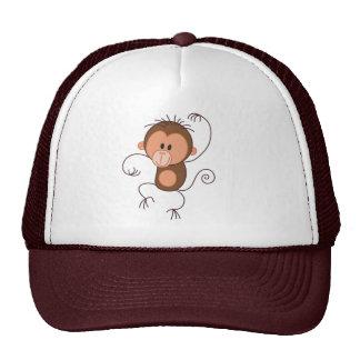 Cute Dancing Monkey Cap