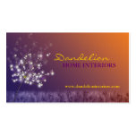 Cute Dandelions Professional Business Cards