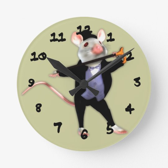 Cute Dapper Mouse, the Dancing Cartoon Mouse Round
