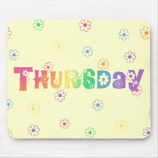 The Word Thursday The word thursday in cute Thursday Word