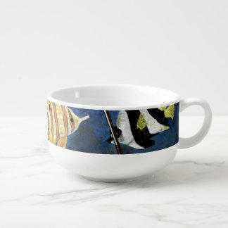 Cute Debajo Del Agua Driftwood Painting Soup Mug