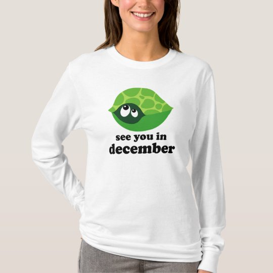 Cute December Baby Announcement T-Shirt
