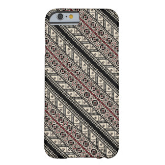 Cute decorative ukrainian patterns design barely there iPhone 6 case