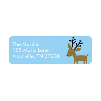 Cute Deer Address Label