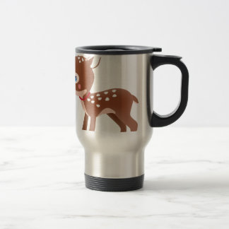 Cute Deer Graphic Coffee Mug