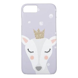 Cute Deer | Lilac | Winter iPhone 8/7 Case