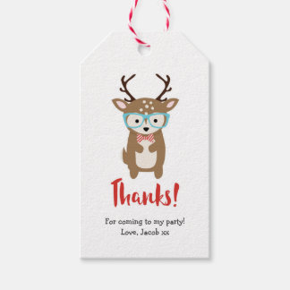 Cute Deer Thank you tags | Party favour tags