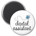 Cute Dental Assistant Refrigerator Magnets