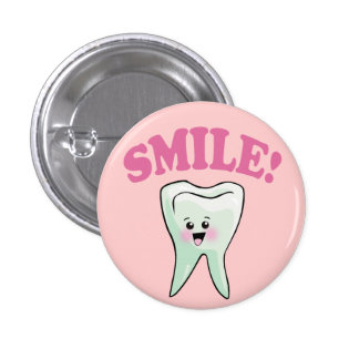 Cute Dental Hygienist 3 Cm Round Badge