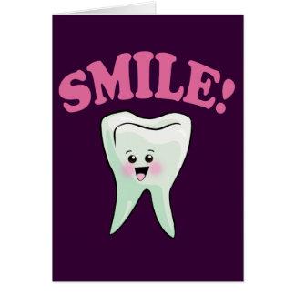 Cute Dental Hygienist Card