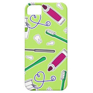 Cute Dentist / Dental Hygienist Love Green Purple iPhone 5 Covers