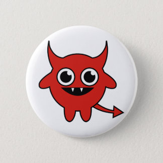 Cute Devil 6 Cm Round Badge