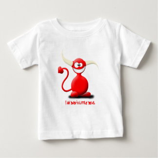 cute devil, I am dady's little devil Baby T-Shirt