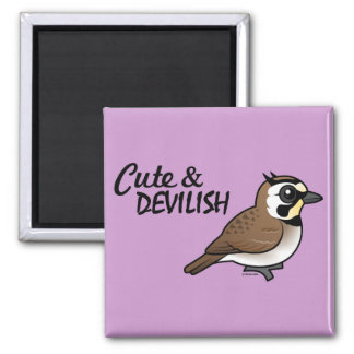 Cute & Devilish Square Magnet