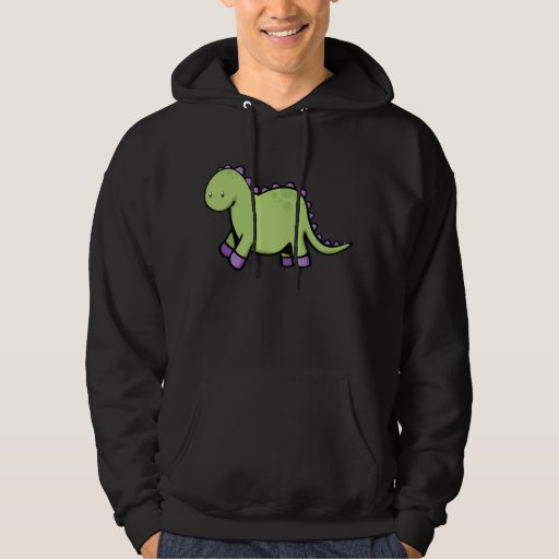 Cute Dino Hooded Pullover